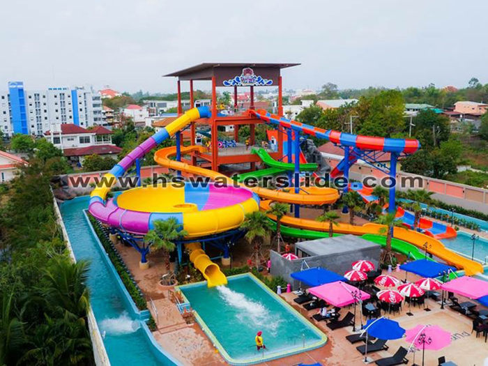 build water park