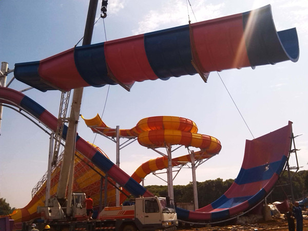 water park equipment installation