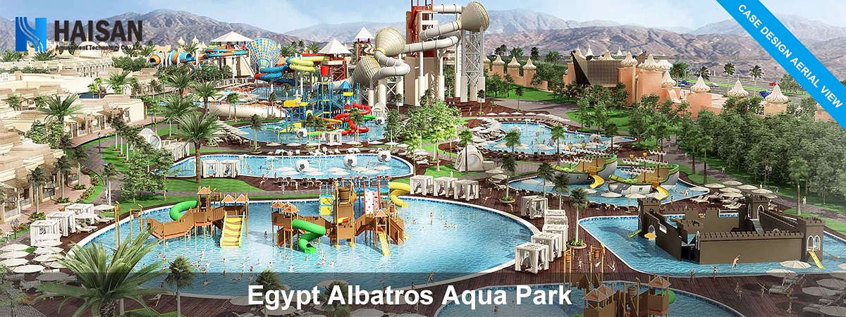 Build a water park in Egypt
