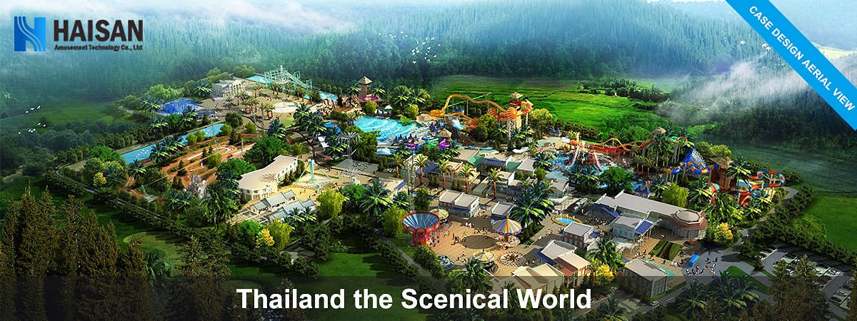 Build a water park in Thailand